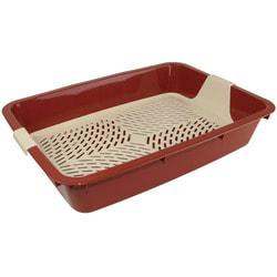 Туалет-лоток DOGMAN Малый для кошек с сеткой 35х25х6см