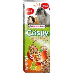 Versele-Laga Палочки для кроликов и морских свинок Crispy с фруктами