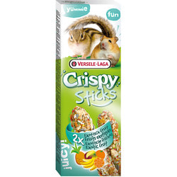 Versele-Laga Палочки для хомяков и белок Crispy с экзотическими фруктами