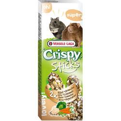 Versele-Laga Палочки для хомяков и крыс Crispy с рисом и овощами