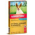 Bayer Адвантикс - Капли для собак от блох и клещей 1 пипетка