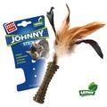 GiGwi Игрушка для кошек Johnny Stick прессованная мята перо с одной стороны