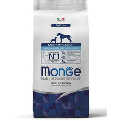 Monge Dog Medium Starter корм для щенков средних пород