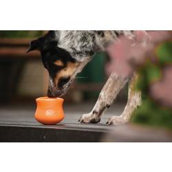 West Paw Игрушка под лакомства для собак Zogoflex Toppl L зеленая
