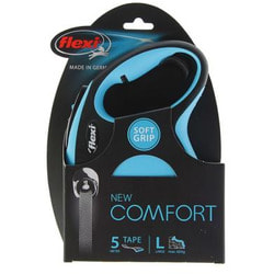 flexi Рулетка New Comfort L до 60кг лента 5м