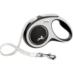 Поводок-рулетка flexi New Comfort S, лента 5 метров, для собак до 15 кг
