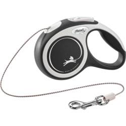 Поводок-рулетка flexi NEW LINE Comfort XS трос 3 метров, для собак до 8кг