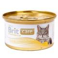 Brit Care Консервы для кошек Куриная грудка и сыр