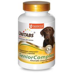 Unitabs SeniorComplex Витамины для собак старше 7 лет