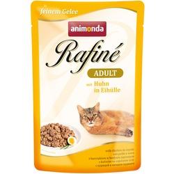 Animonda Паучи Rafine Soupe Adult с курицей в яичном пудинге для взрослых кошек
