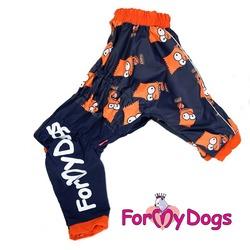 ForMyDogs Дождевик для больших собак Барт, мальчик