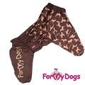ForMyDogs Комбинезон для больших собак на меху Собаки, девочка