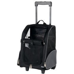 Trixie Транспортная сумка на колесах черный/серый