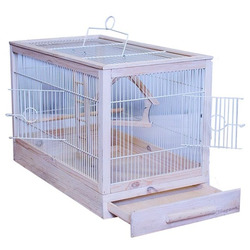 Дарэлл Клетка для птиц Ретро - кантри большая, деревянная 71х33,5х51