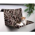 Trixie Гамак для кошки на радиатор Жираф