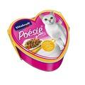 Vitakraft POESIE консервы для кошек курица с овощами кусочки в соусе