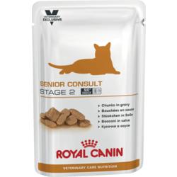Royal Canin Пауч для кастрированных котов и кошек старше 7 лет Senior Consult Stage 2