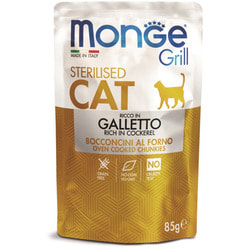 Monge Excellence Cat Hairball корм для кошек для выведения комков шерсти