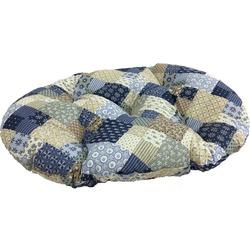 Бобровый дворик Лежак-подушка для собак и кошек Пэчворк