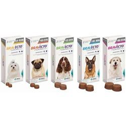 Intervet Бравекто - жевательная таблетка для собак от блох и клещей