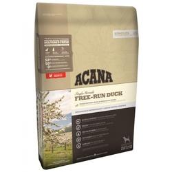 Acana Singles Free-Run Duck сухой беззерновой корм для собак с уткой