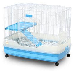 Kredo Клетка для грызунов кроликов, шиншилл и хорьков на колёсах, 1-секционная