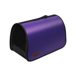 Lion Сумка переноска для собак и кошек Фиолетовая, разборная