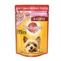 Pedigree Пауч для взрослых собак мелких пород Ягненок в соусе