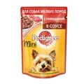 Pedigree Пауч для взрослых собак мелких пород Говядина в соусе