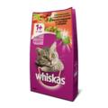 Whiskas Сухой корм для кошек Вкусные подушечки со сметаной и овощами Говядина/Кролик
