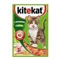 Kitekat Пауч для кошек Кролик в желе