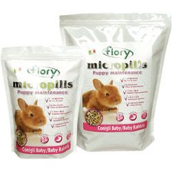 FIORY Корм для крольчат Micropills Baby Rabbits