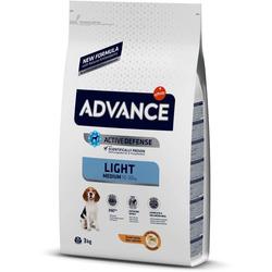 Сухой корм Advance Affinity Medium Light для собак с курицей и рисом Контроль веса