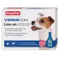 BEAPHAR Vermicon Капли для собак, 3 пипетки