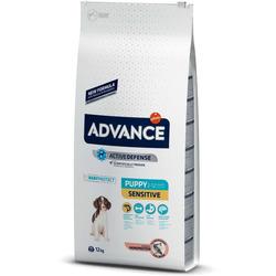 Сухой корм Advance Affinity Puppy Sensitive для щенков с чувствительным пищеварением Лосось/рис