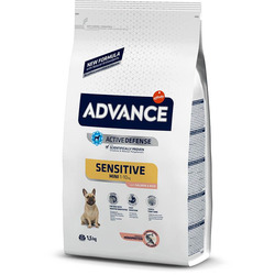 Advance Affinity Для малых пород с чувствительным пищеварением Лосось/рис Mini Sensitive