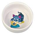 Trixie Миска керамическая с рисунком Голубой Котенок