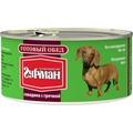 Четвероногий Гурман Готовый обед консервы для собак Говядина с гречкой