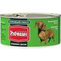 Четвероногий Гурман Готовый обед консервы для собак Потрошки с рисом