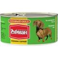 Четвероногий Гурман Готовый обед консервы для собак Потрошки с гречкой