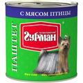 Четвероногий Гурман Паштет для собак с Мясом птицы