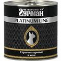 Четвероногий Гурман Platinum Консервы для кошек Сердечки куриные в желе