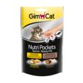 Gimpet Nutri Pockets Taurine-Beauty Mix Подушечки для кошек с таурином и биотином