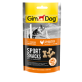 Gimpet Лакомство дрессировочное SportSnacks мини-косточки с курицей для собак