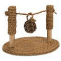 I.P.T.S./Beeztees Игрушка для грызунов Турник из кокосовой веревки с мячиком