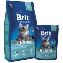 Brit Premium сухой корм для кошек с чувствительным пищеварением с Ягненком