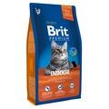 Brit Premium Cat Indoor сухой корм для кошек домашнего содержания Курица и печень