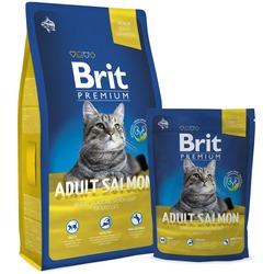 Brit Premium Cat Adult Salmon сухой корм для кошек Лосось в соусе