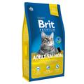 Brit Premium сухой корм для кошек Лосось в соусе