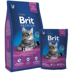 Brit Premium Cat Light сухой корм для кошек склонных к излишнему весу Курица и печень